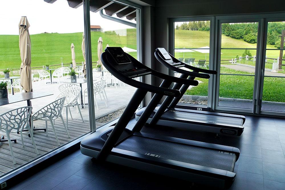Haubers Naturresort: Meine Erfahrungen im Wellnesshotel im Allgäu - Fitnessraum
