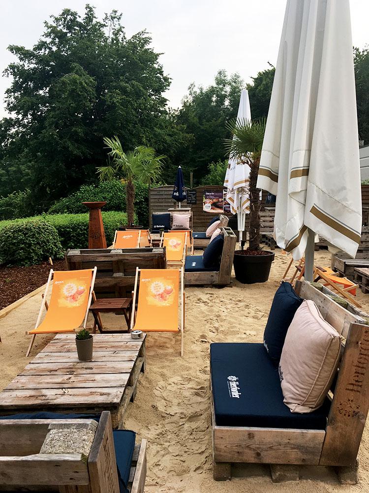 Beach Bar im Mercure Hotel am Johannisberg in Bielefeld - Teutoburger Wald