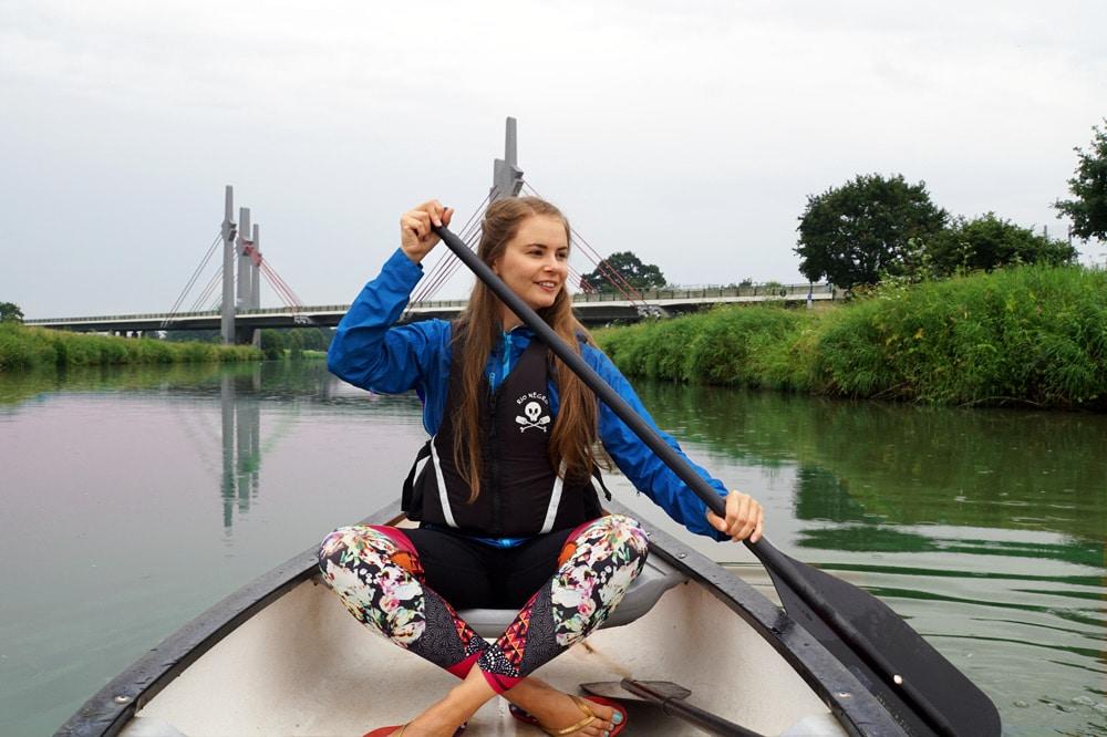 Teutoburger Wald: Kanu fahren mit Rio Negro