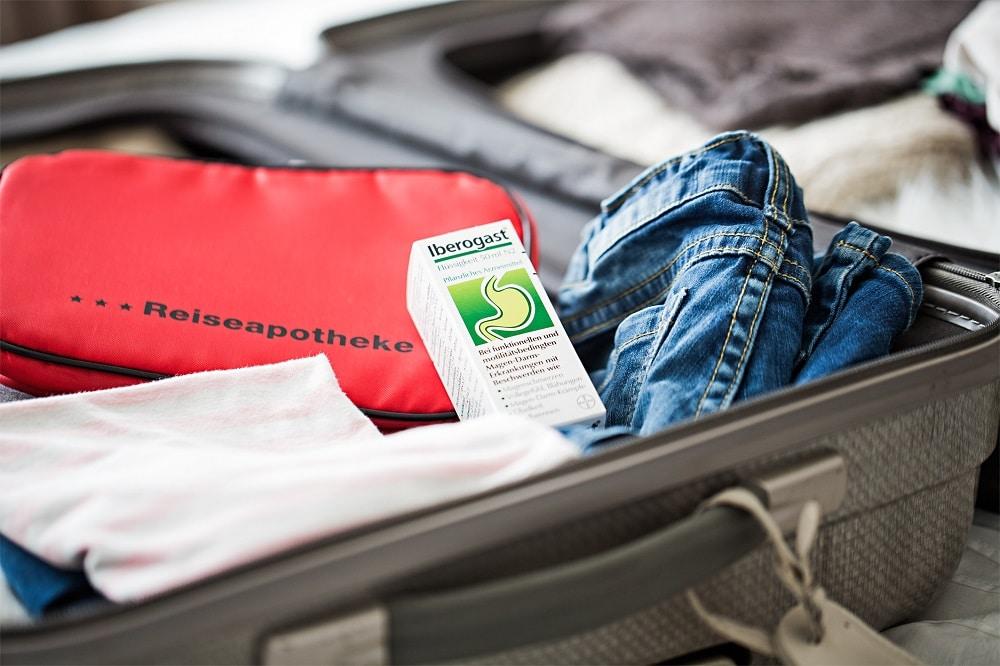 Magenprobleme auf Reisen - Iberogast