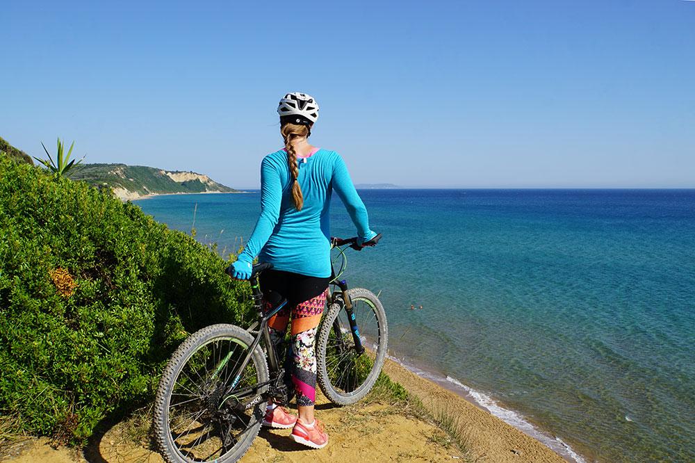 Frosch Sportreisen Erfahrungen: Mountainbiken im Frosch Sportclub Agios Georgios auf Korfu