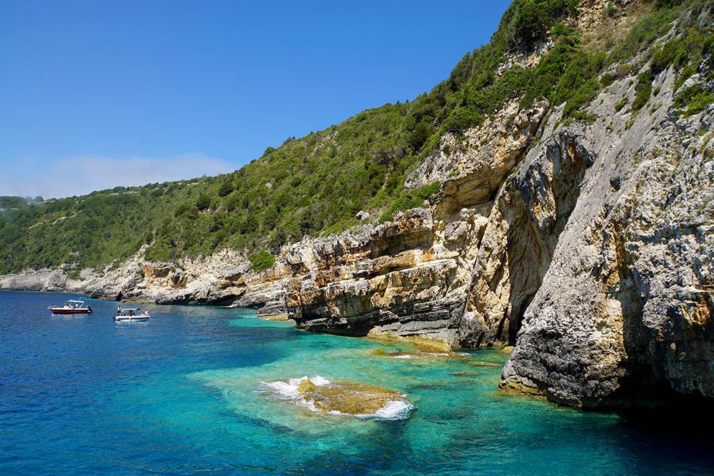 Frosch Sportreisen Erfahrungen: Ausflug nach Paxos und Antipaxos