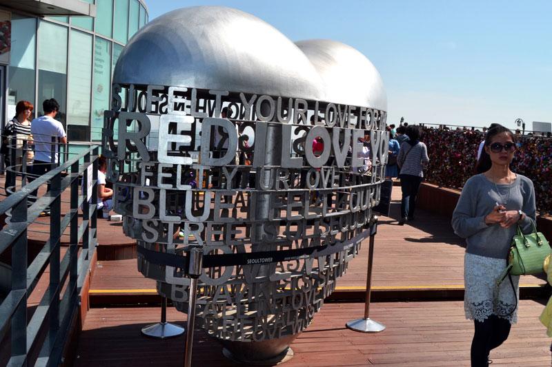 Top 10 Seoul Sehenswürdigkeiten: Meine Highlights und Things to do in Südkorea - N Seoul Tower