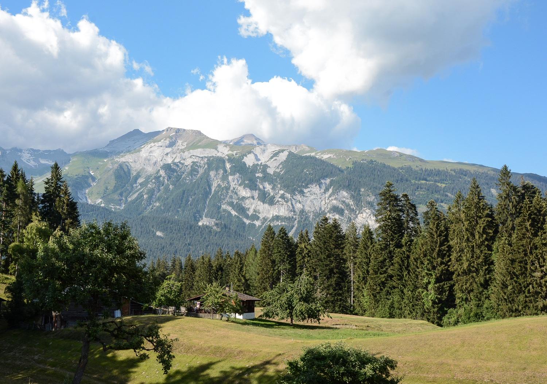 Flims und Laax, Bündner Berge: Wandern, Mountainbiken und Seen in der Schweiz - Rheinschlucht