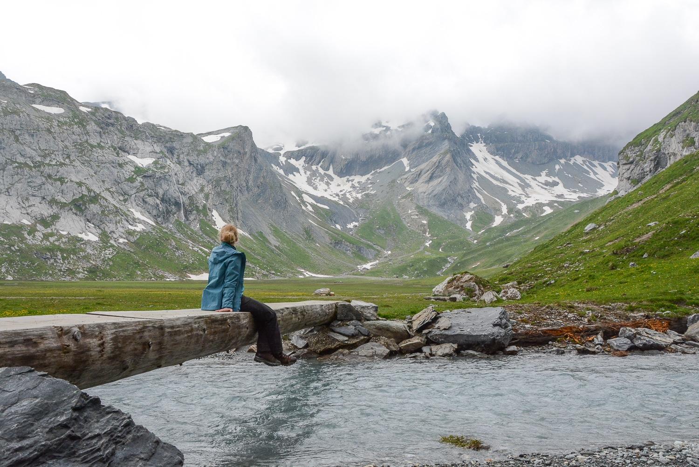 Flims und Laax, Bündner Berge: Wandern, Mountainbiken und Seen in der Schweiz - Wasserweg Trutg di Flem