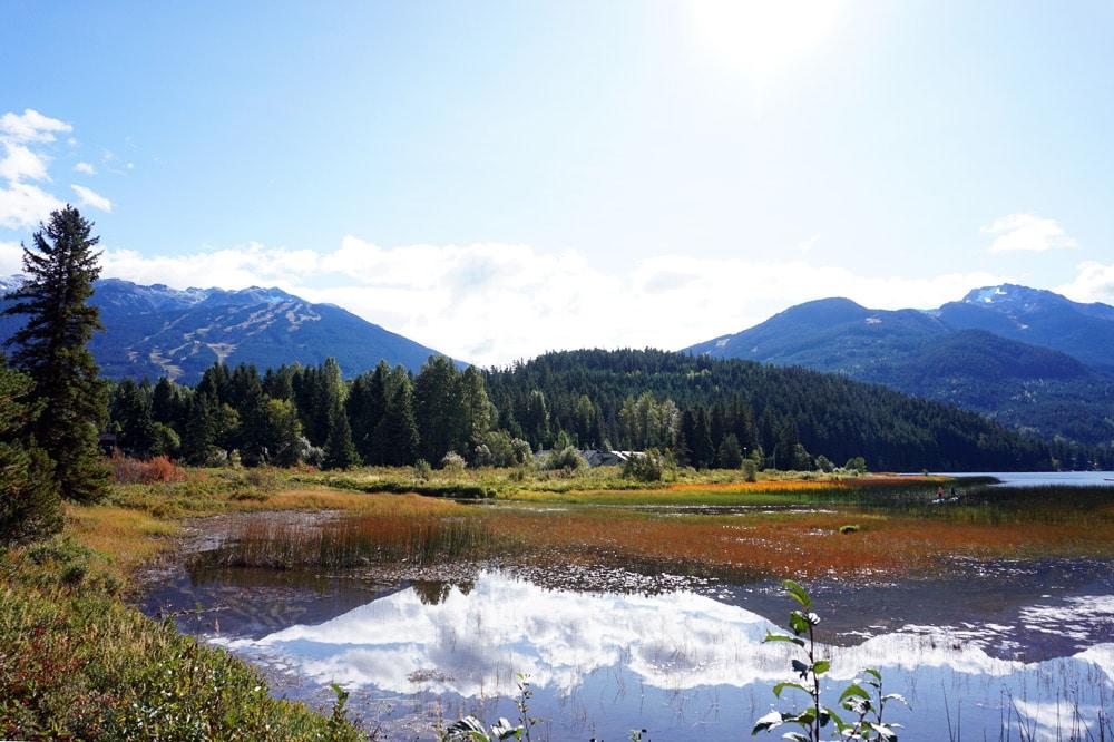 Kanada Rundreise: Highlights auf der Nationalparkroute von Vancouver nach Banff - Whistler Atta Lake