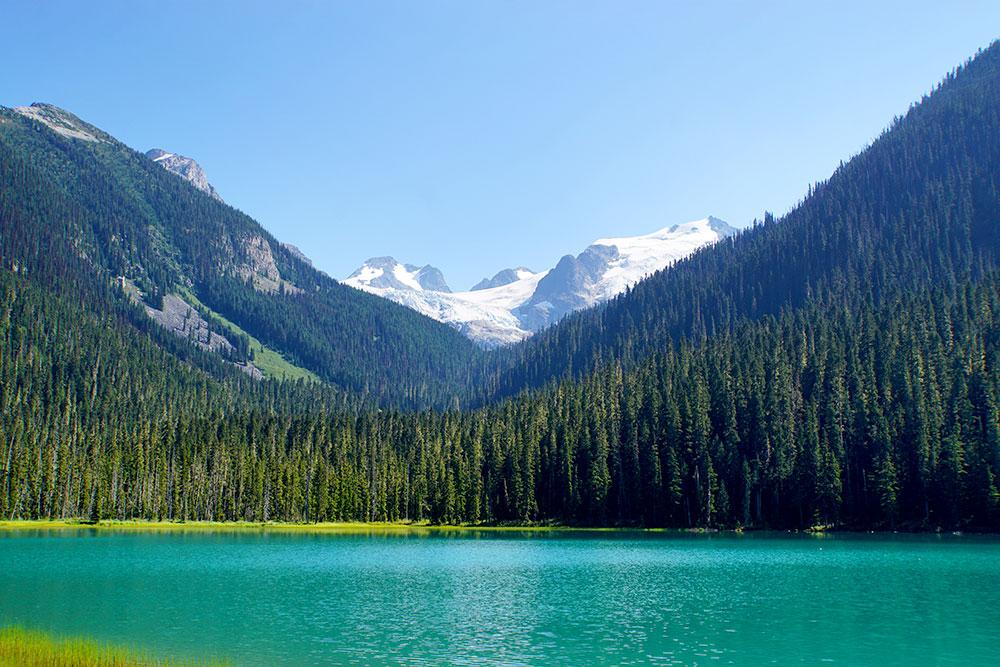 Kanada Rundreise: Highlights auf der Nationalparkroute von Vancouver nach Banff - Whistler Green Lake