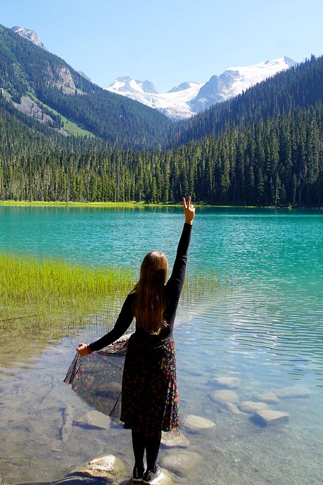 Kanada Rundreise: Highlights auf der Nationalparkroute von Vancouver nach Banff - Joffre Lakes Provincial Park
