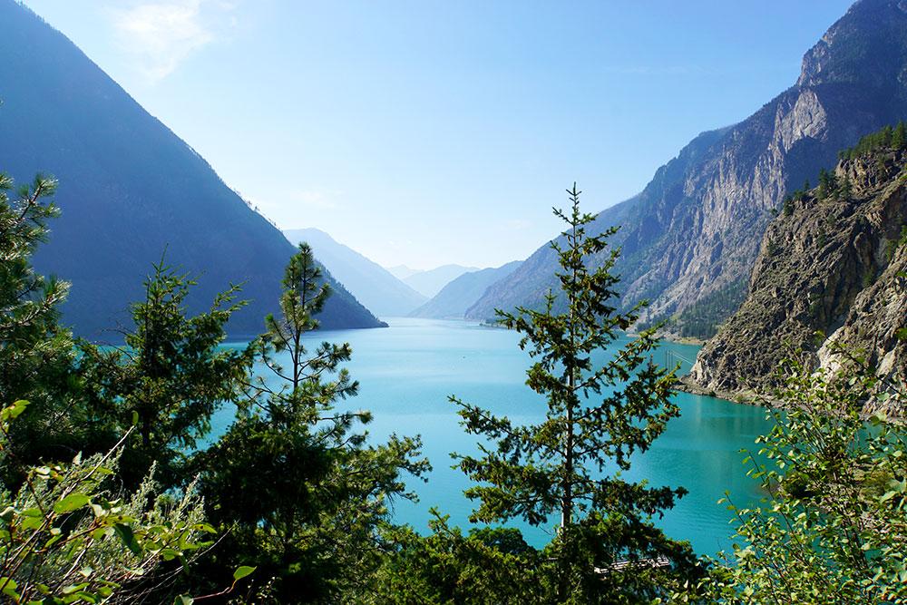 Kanada Rundreise: Highlights auf der Nationalparkroute von Vancouver nach Banff - Seton Lake
