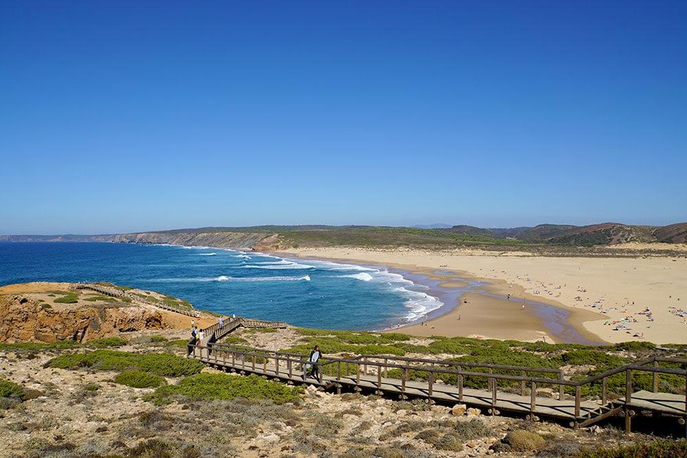 Algarve Top 10 Sehenswürdigkeiten: Highlights der schönsten Region in Portugal - Praia da Bordeira