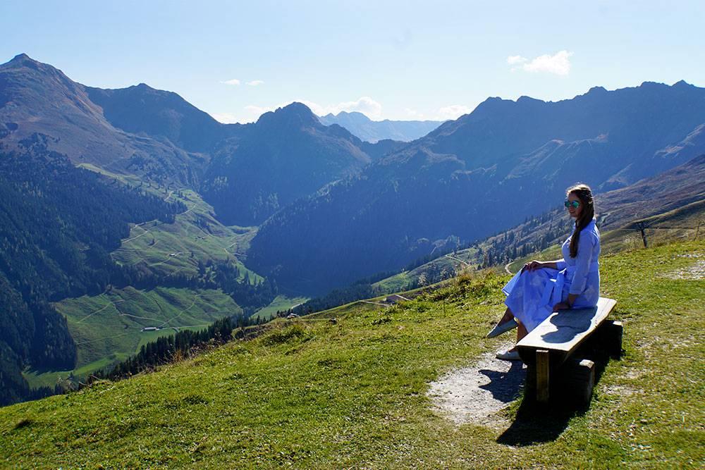 Hotel der Alpbacherhof: Meine Erfahrungen mit dem Wellnesshotel in Alpbach, Tirol - Ausflug mit der Gondel auf den Berg