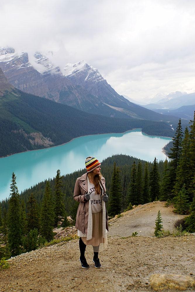 Highlights und Top Ten Sehenswürdigkeiten im Banff Nationalpark: Peyto Lake Icefields Parkway