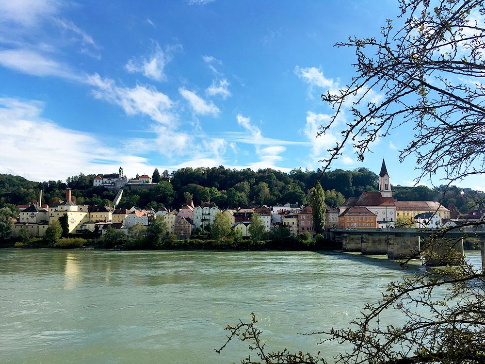 Donauradweg: Oberösterreich mit dem Fahrrad entlang der Donau entdecken - Passau