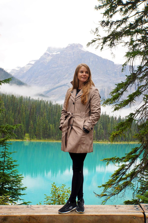 Kanada Rundreise: Highlights auf der Nationalparkroute von Vancouver nach Banff - Yoho Nationalpark, Emerald Lake