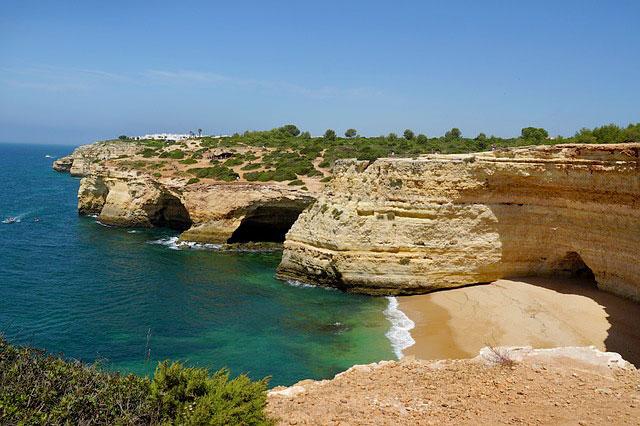 Algarve Top 10 Sehenswürdigkeiten: Highlights der schönsten Region in Portugal - Höhlen und Grotten
