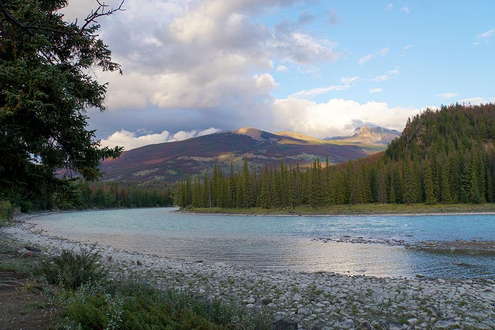 Jasper Nationalpark Top 10 Sehenswürdigkeiten: Das sind die Highlights im Park - Athabasca River