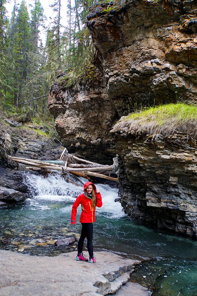 Highlights und Top Ten Sehenswürdigkeiten im Banff Nationalpark: Johnston Canyon