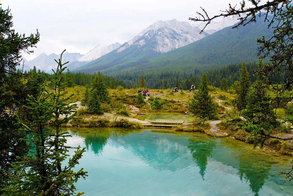 Highlights und Top Ten Sehenswürdigkeiten im Banff Nationalpark: Johnston Canyon Trail Ink Pots