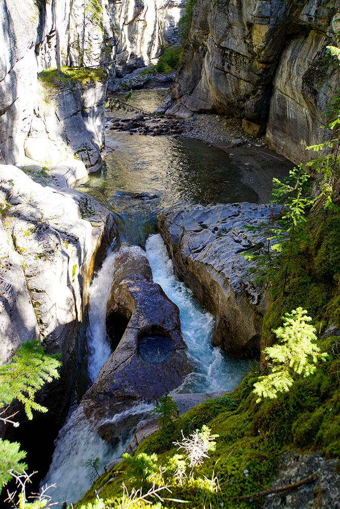 Kanada Rundreise: Highlights auf der Nationalparkroute von Vancouver nach Banff - Jasper Nationalpark, Maligne Canyon Trail