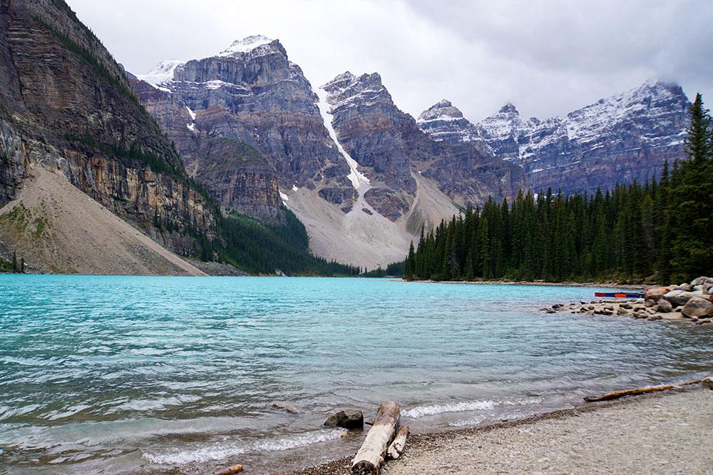 Highlights und Top Ten Sehenswürdigkeiten im Banff Nationalpark: Moraine Lake