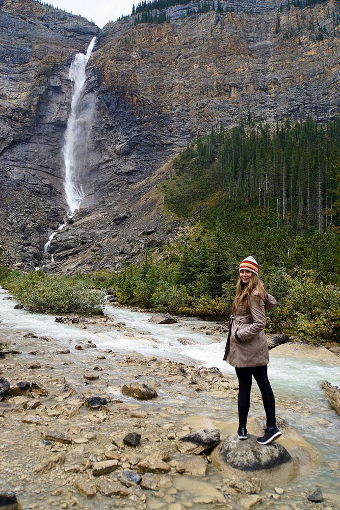 Kanada Rundreise: Highlights auf der Nationalparkroute von Vancouver nach Banff - Yoho Nationalpark, Takakkaw Falls