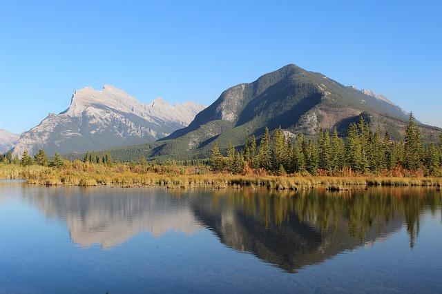 Highlights und Top Ten Sehenswürdigkeiten im Banff Nationalpark: Vermilion Lakes