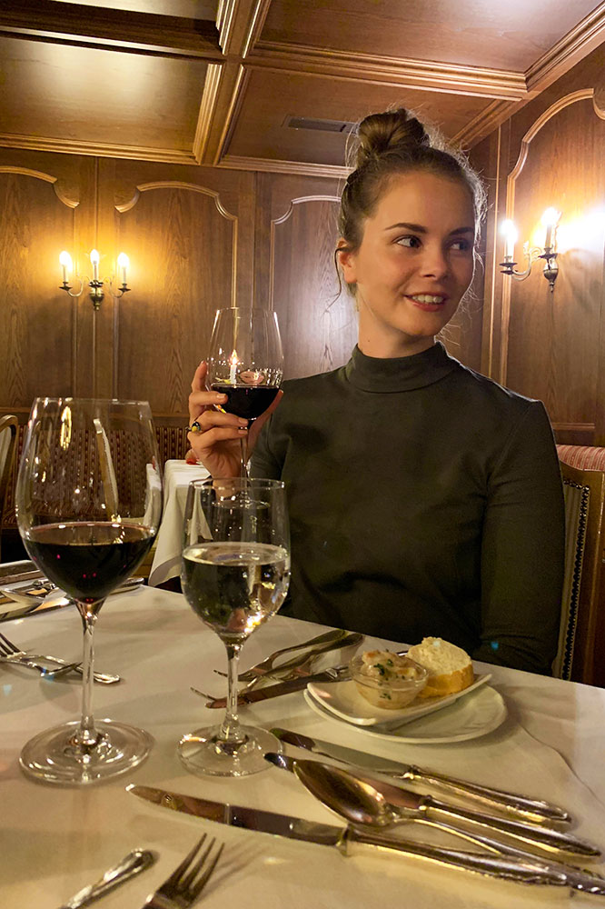 Hotel der Alpbacherhof: Meine Erfahrungen mit dem Wellnesshotel in Alpbach, Tirol - Abendessen Restaurant