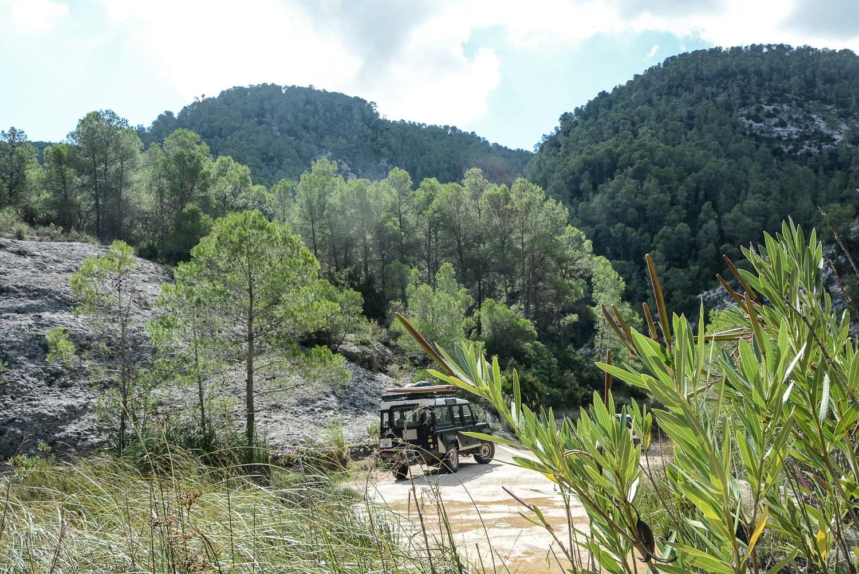 Valencia und seine Berge: Wandern im Hinterland - Barranco Moreno