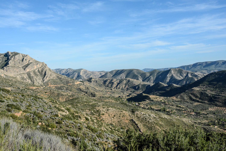 Valencia und seine Berge: Wandern im Hinterland - von Alborache nach Quesa, Bergkette nahe Dos Aguas