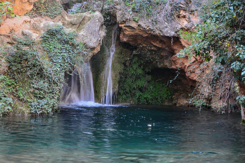 Valencia und seine Berge: Wandern im Hinterland - Fluss Bohilgues Wasserfall