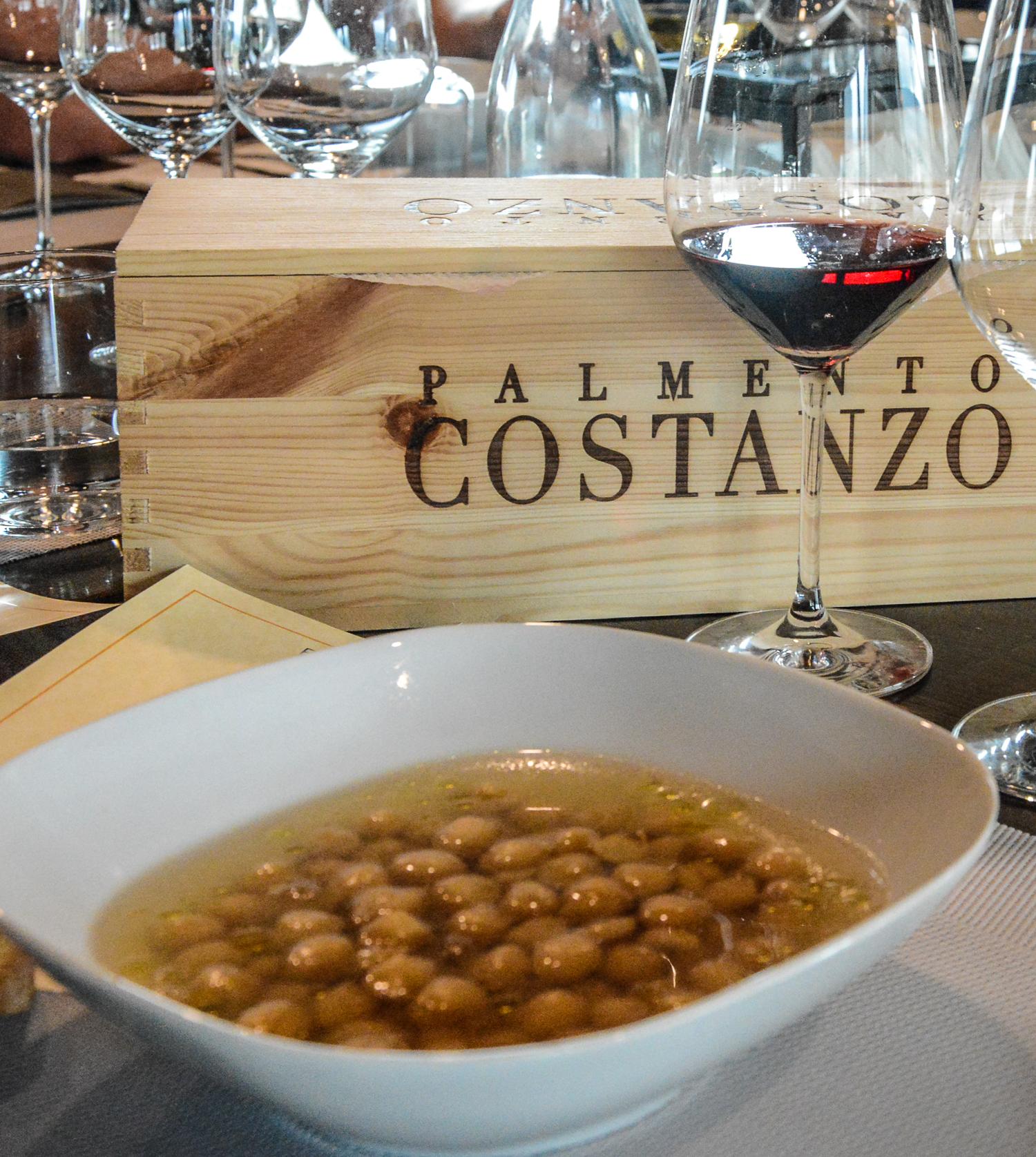 Sizilien: Weinverkostung und Mittagessen auf dem Weingut Palmento Constanzo