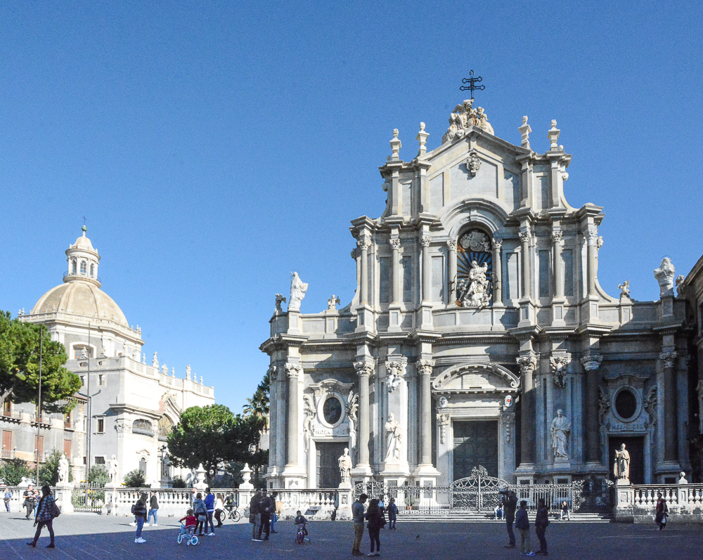 Sizilien: Piazza Duomo in Catania