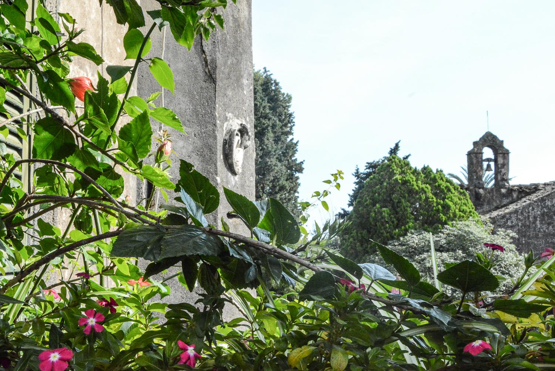 Der Pate Drehorte in Sizilien: Castello Degli Schiavi - auf diesem Balkon stand Al Pacino Alias Michael Corleone