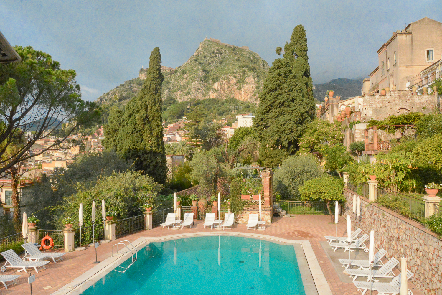 Belmond Grand Hotel Timeo in Taormina, Sizilien: Pool