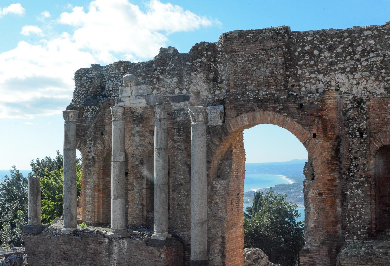 Taormina in Sizilien: Teatro Greco