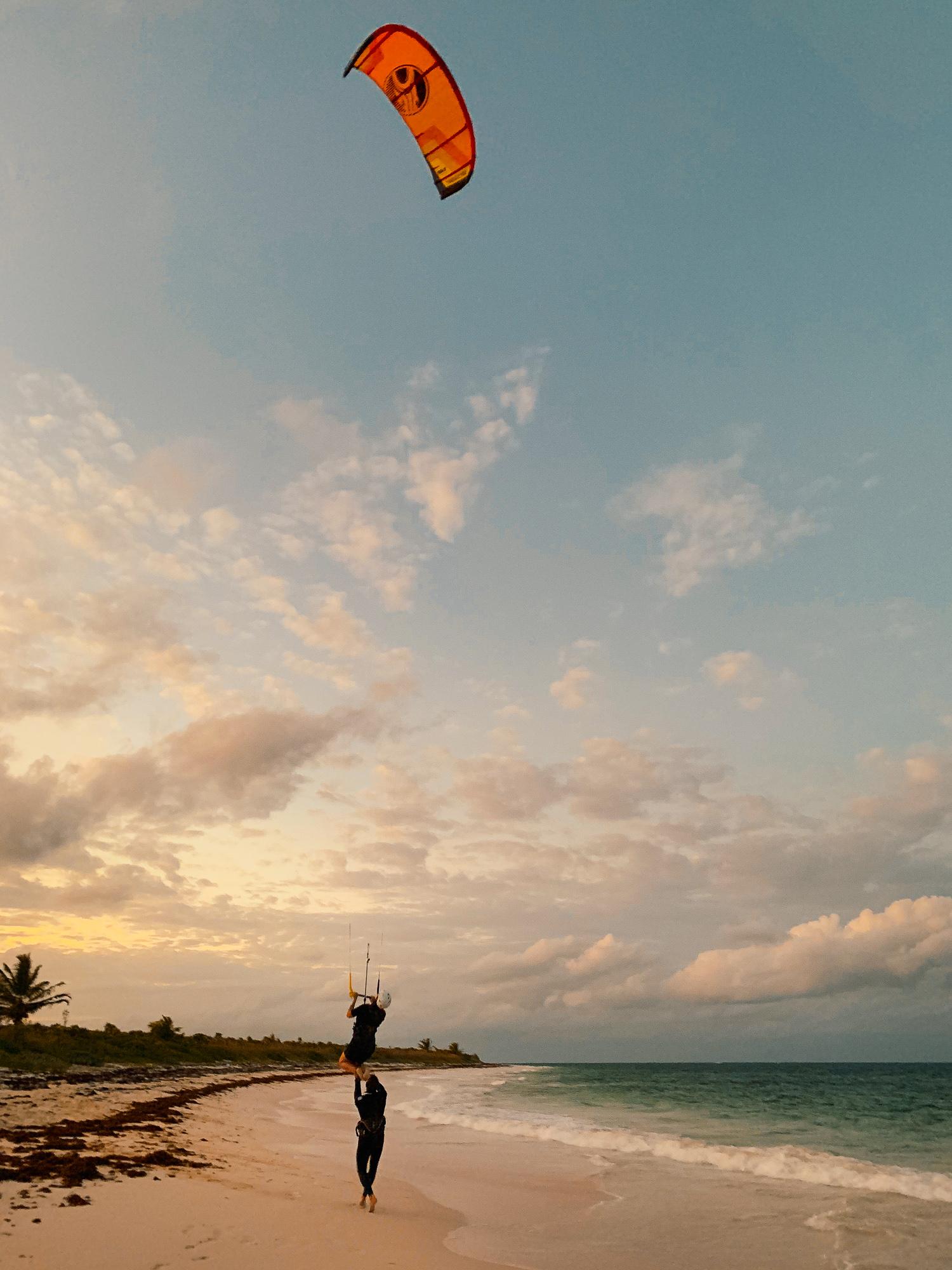 Kitesurfen auf den Bahamas: Cat Island und Greenwood Beach Resort Erfahrungen - Kitesurfkurs
