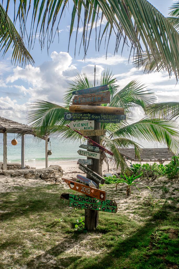 Kitesurfen auf den Bahamas: Cat Island und Greenwood Beach Resort Erfahrungen - Garten