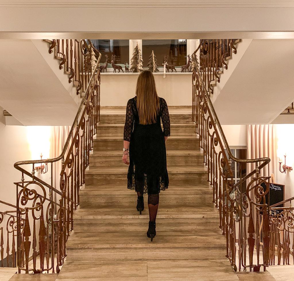 Hotel Steiner: Meine Erfahrungen beim Skifahren und Wellness in Obertauern - Lobby