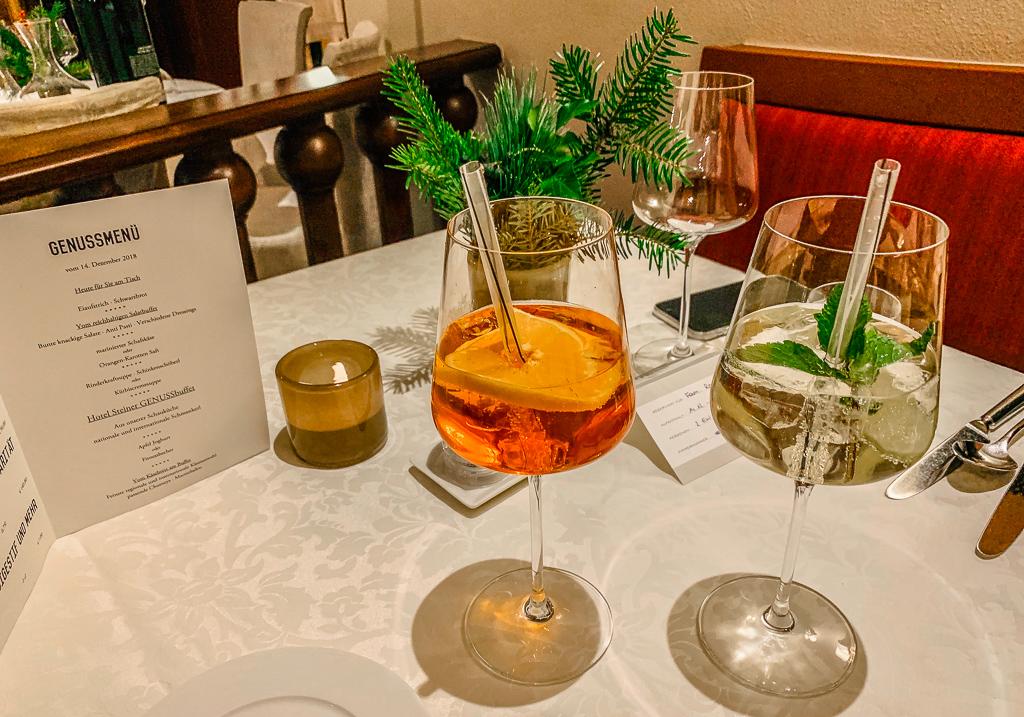 Hotel Steiner: Meine Erfahrungen beim Skifahren und Wellness in Obertauern - Restaurant