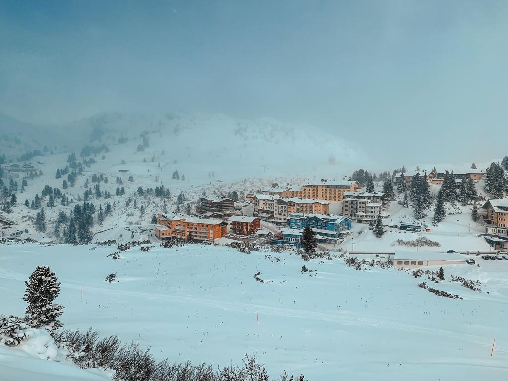Hotel Steiner: Meine Erfahrungen beim Skifahren und Wellness in Obertauern - Skigebiet