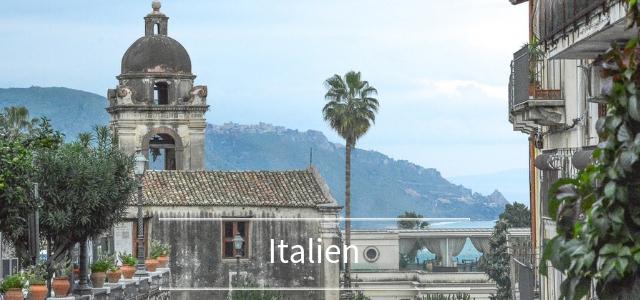 """Sizilien Nordküste - ein Kurztrip: Taormina, Catania, Ätna und """"Der Pate"""" Drehorte"""