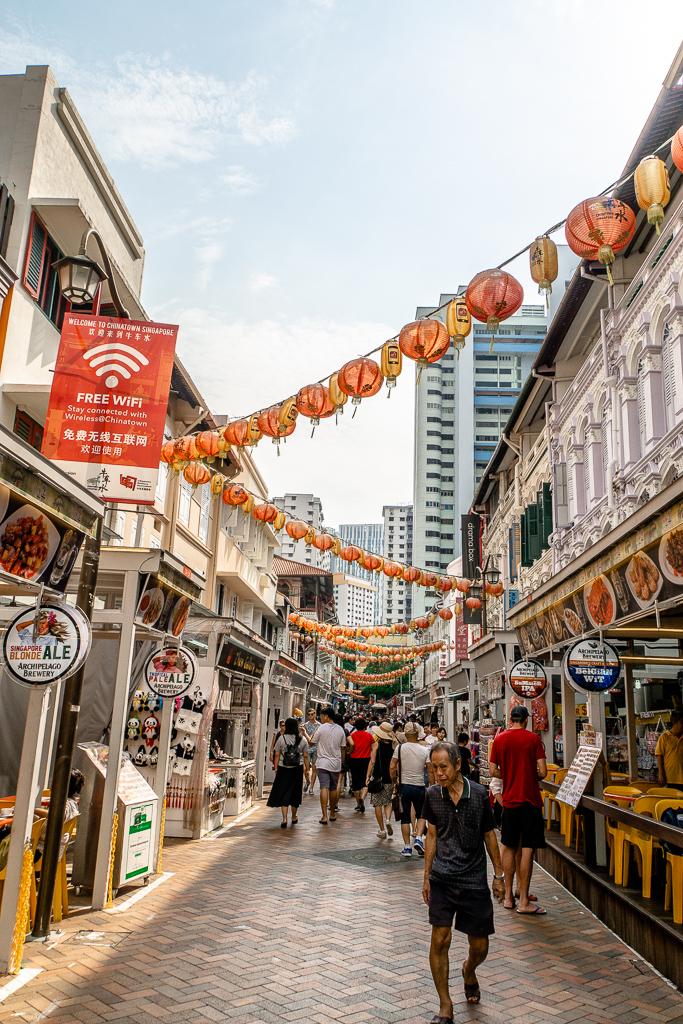 Chinatown Markt - Sri Mariamman Tempel Chinatown - Chinatown - Masjid Sultan Moschee - National Orchid Gardens - Singapore Botanic Gardens Botanischer Garten - The Esplanade - Boat Quay - Singapur Top 10 Sehenswürdigkeiten: Alle Highlights für deinen ersten Besuch