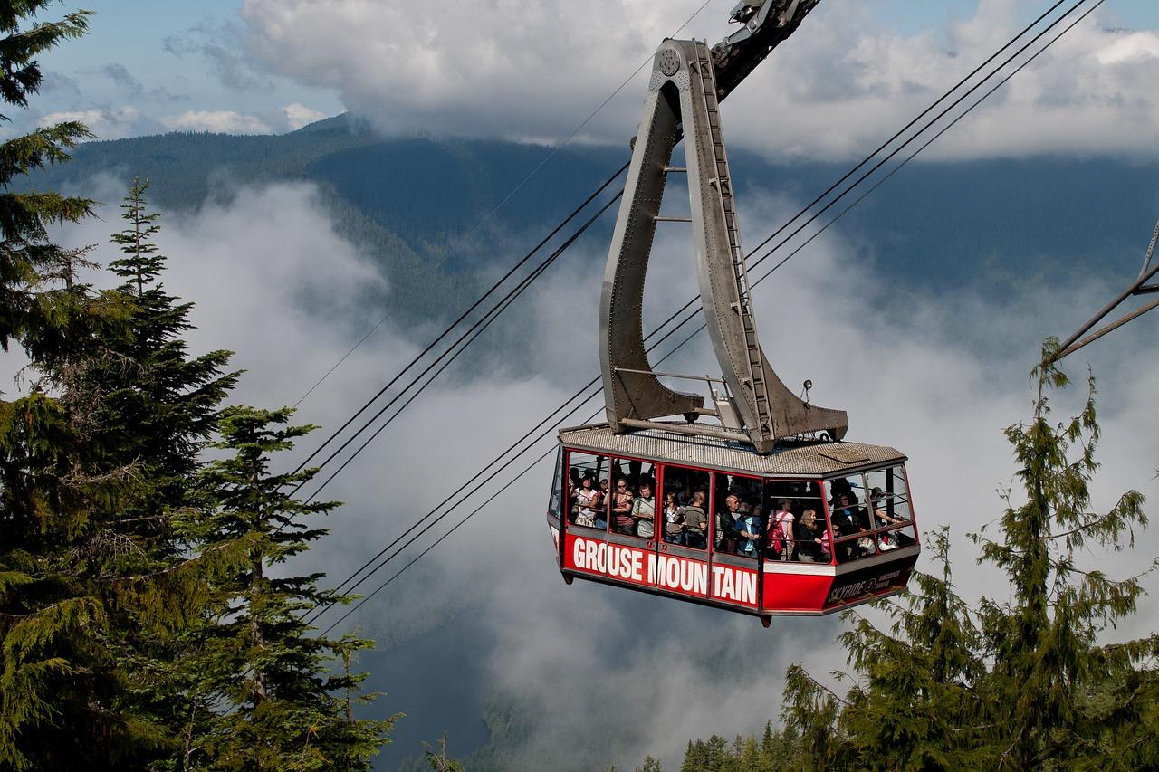 Vancouver Tagesausflug: 9 Ausflugsziele und Highlights rund um die Stadt - Grouse Mountain
