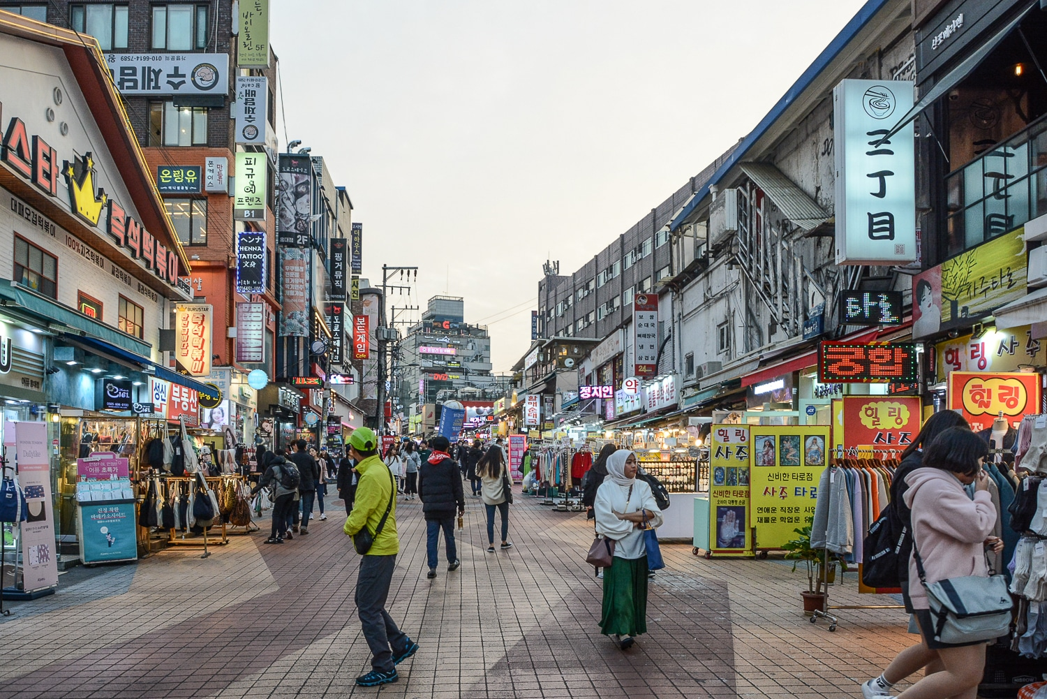Seoul Tipps und Sightseeing in Seoul: 12 Highlights in Koreas Hauptstadt - Hongdae