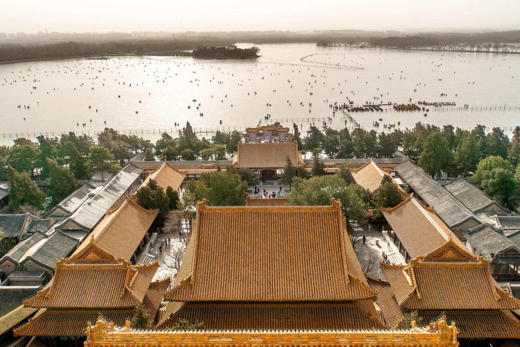 Sommerpalast in Peking: Die schönsten Sehenswürdigkeiten & Highlights - Aussicht auf den Kunming See