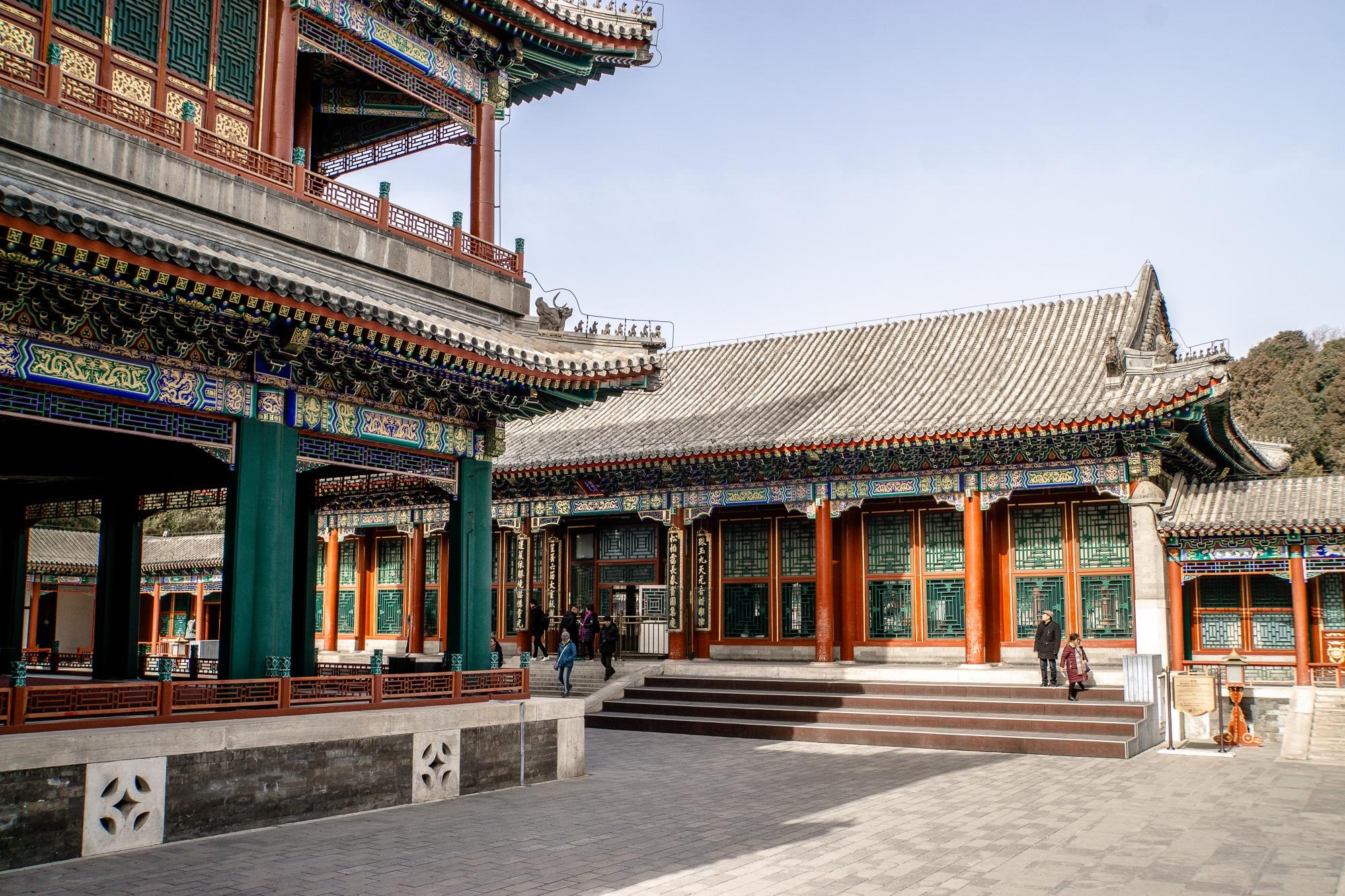 Sommerpalast in Peking: Die schönsten Sehenswürdigkeiten & Highlights - Garten der Harmonie und des Vergnügens / Garden of Virtue and Harmony