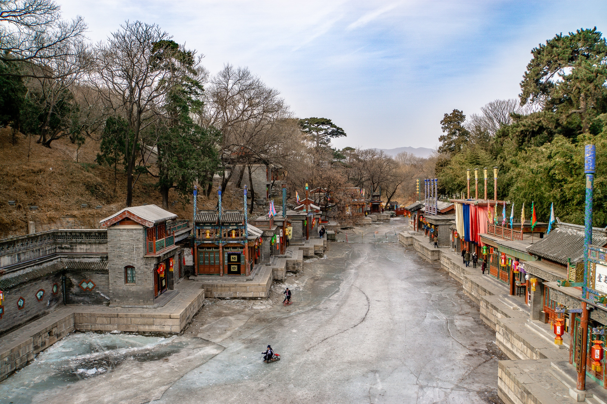 Sommerpalast in Peking: Die schönsten Sehenswürdigkeiten & Highlights - Suzhou Fluss /Suzhou River