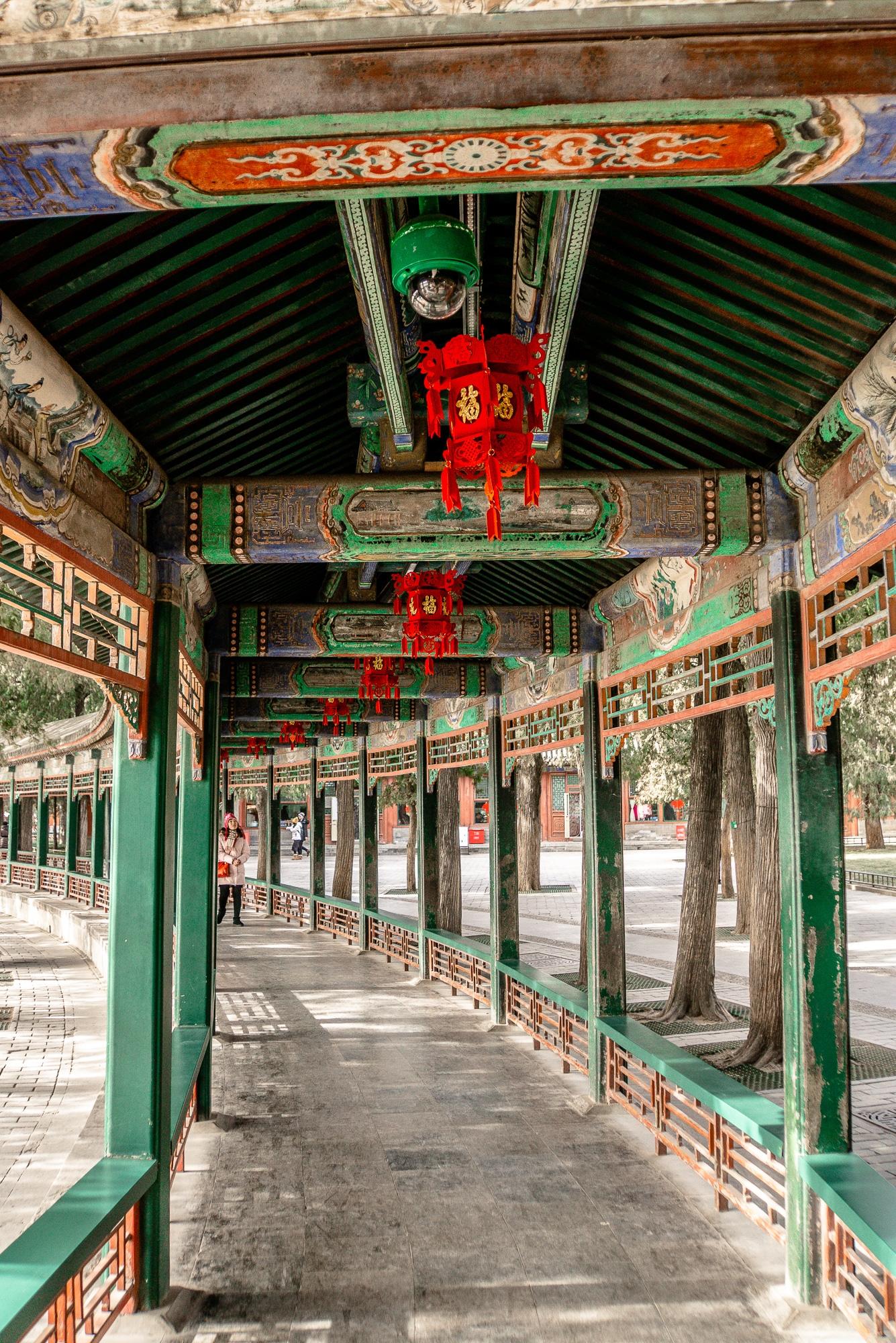 Sommerpalast in Peking: Die schönsten Sehenswürdigkeiten & Highlights - Wandelgang / Long Corridor