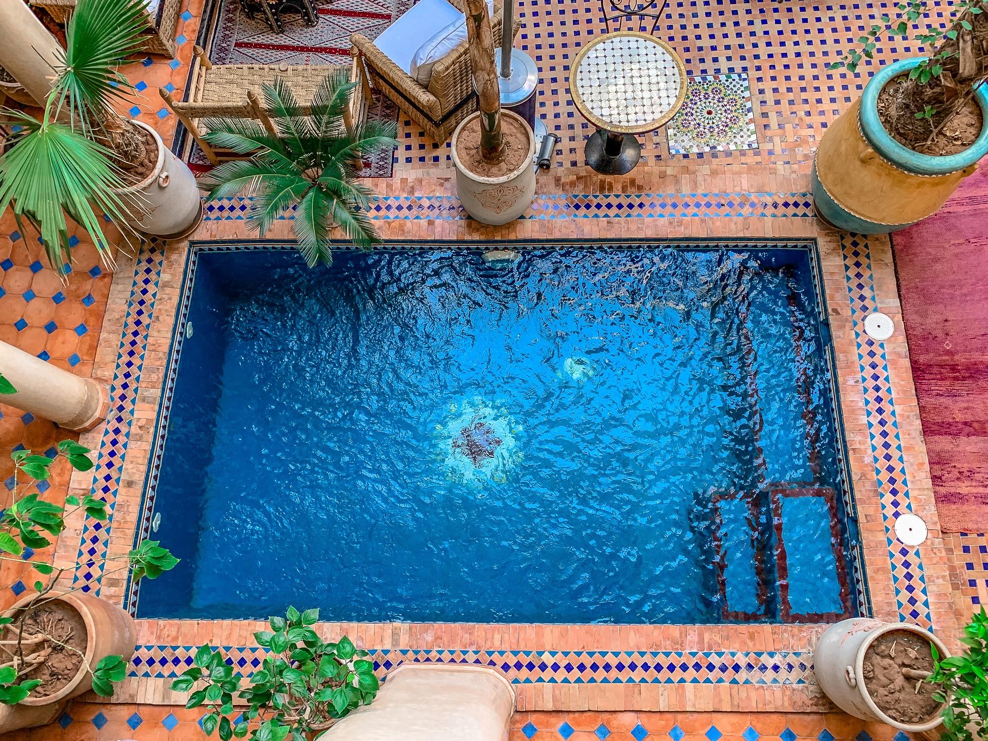 Top Ten Marrakesch Sehenswürdigkeiten - meine Marrakesch Highlights: Riad Hadda - schönste Riads in Marrakesch