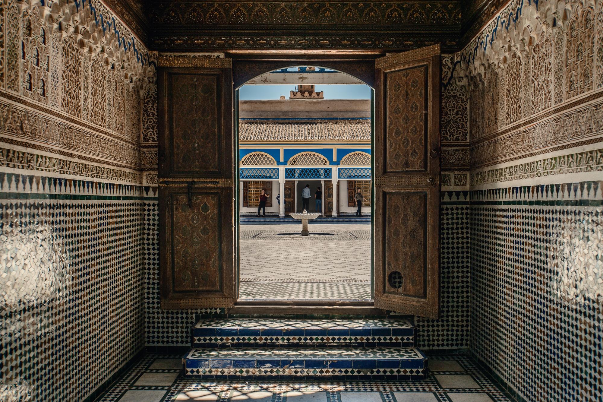 Top Ten Marrakesch Sehenswürdigkeiten - meine Marrakesch Highlights: Der Bahia Palast